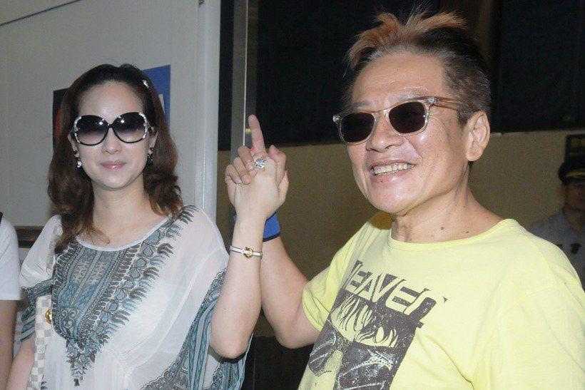 高凌風(右)娶了金友莊,人生難得有重新站起來的機會。圖/本報資料照