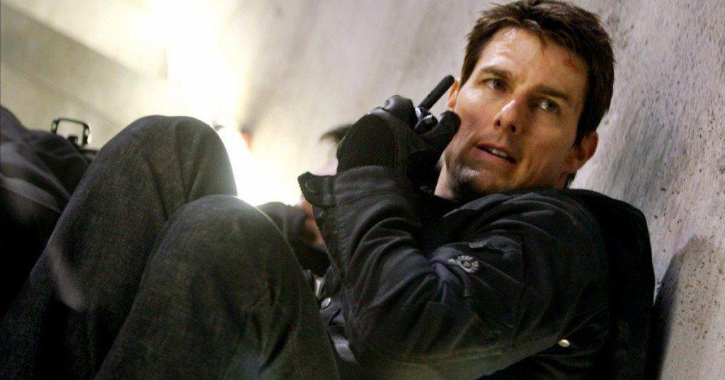 湯姆克魯斯在「不可能的任務5」有張「緊繃」的臉。圖/摘自pinterest