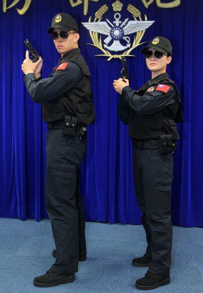 憲兵的新式勤務服 程嘉文