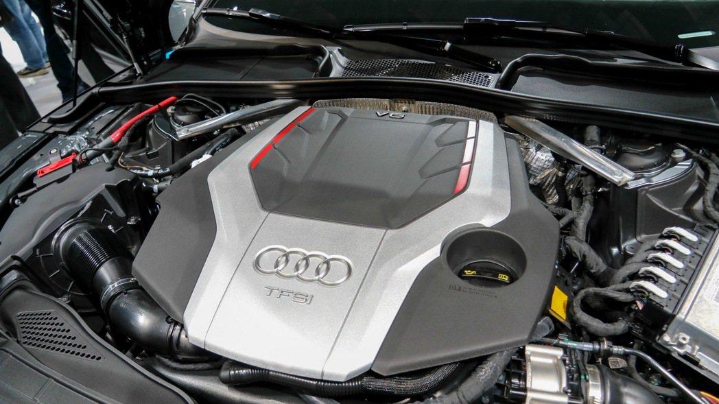 S5引擎。 記者史榮恩/攝影