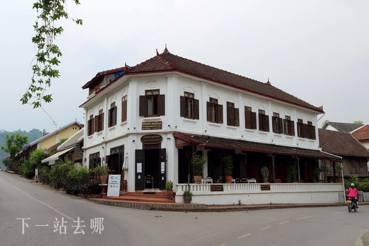 龍坡邦房屋大多為法式殖民風格。