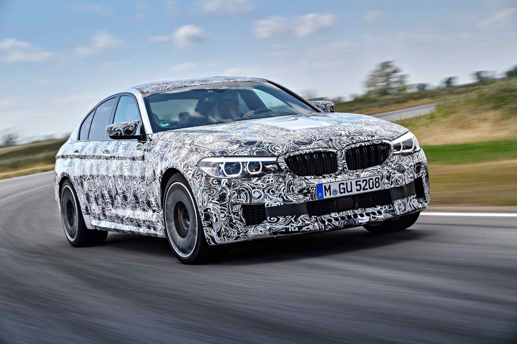 2018 BMW M5。圖/BMW提供