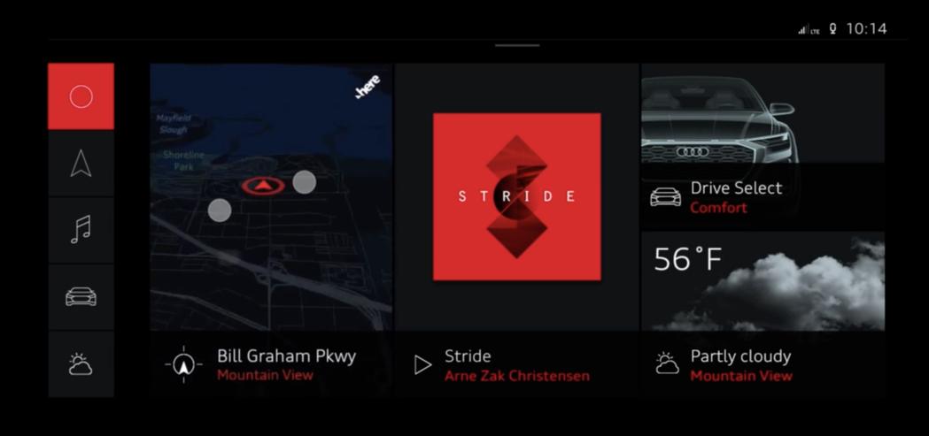 這套系統可以顯示於全數位儀表板上。圖/摘自YouTube