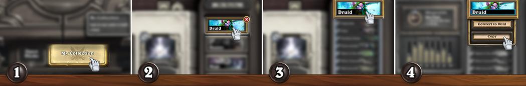 全新的套牌匯入功能讓你能輕易複製並分享套牌。