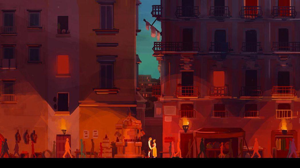 可以在遊戲裡看到時空的重疊,感覺真的很特別。