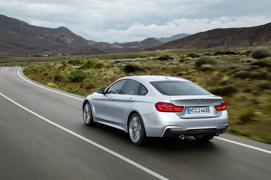 現役4-Series Gran Coupe BMW提供