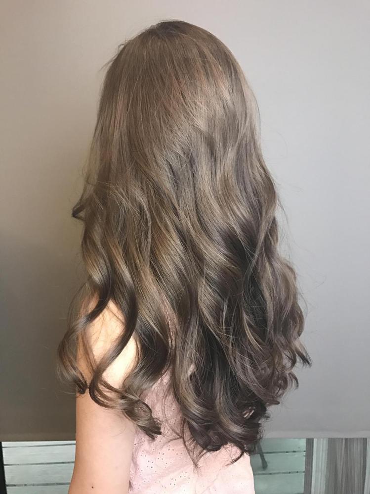 髮型創作/春天Spa造型美髮沙龍錦州店-Elaine Kuo。圖/HairMap...