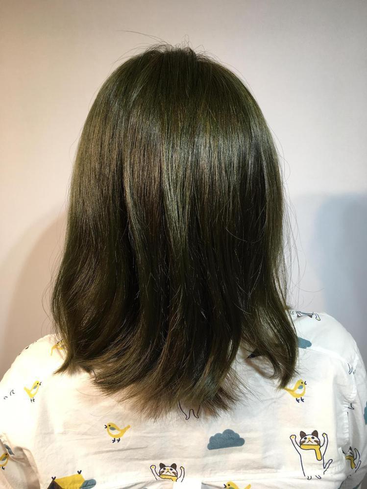 髮型創作/諾亞藝術造型裕民店-Ru Ru。圖/HairMap美髮地圖提供
