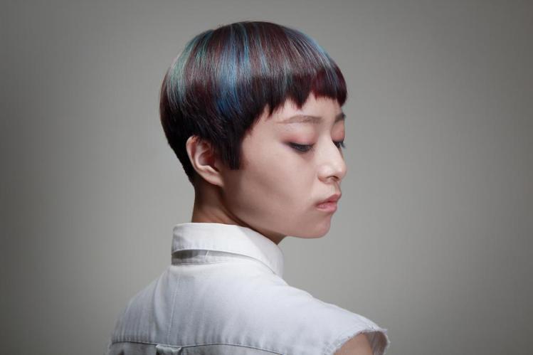 髮型創作/有造型空間-Kenny shen。圖/HairMap美髮地圖提供