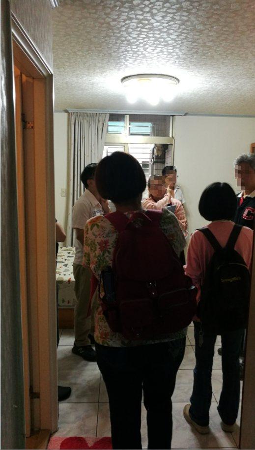 台北市林森北路套房,看屋人潮多。圖/台灣金聯提供