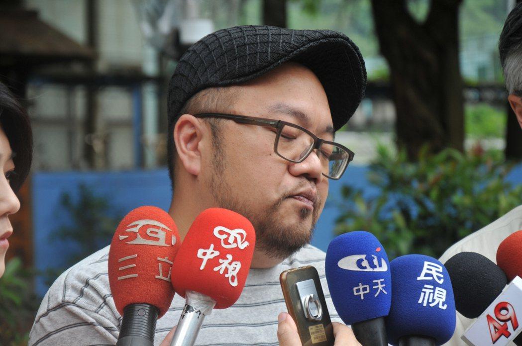 導演葉天倫今天說,豬哥亮演戲真的超敬業。記者游明煌/攝影