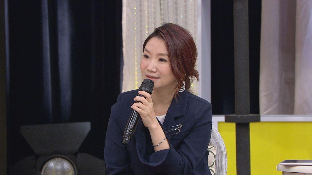 陶晶瑩在節目中透露曾被酸學歷不夠高。圖/衛視中文台提供