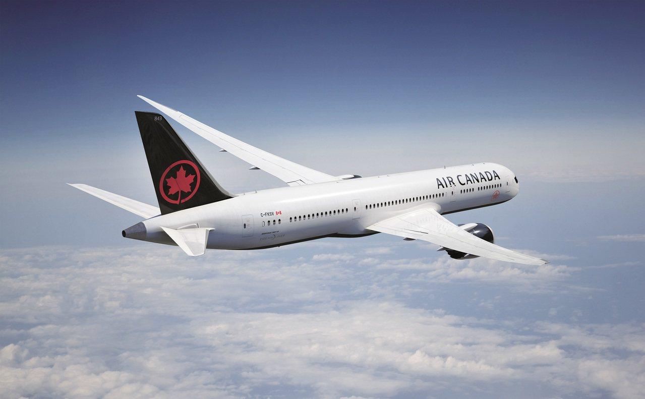 加拿大航空將於6月開航台北-溫哥華航線。圖/加拿大航空提供