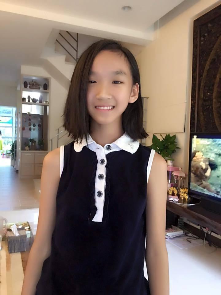 丁國琳女兒已11歲,長得亭亭玉立。圖/丁國琳提供