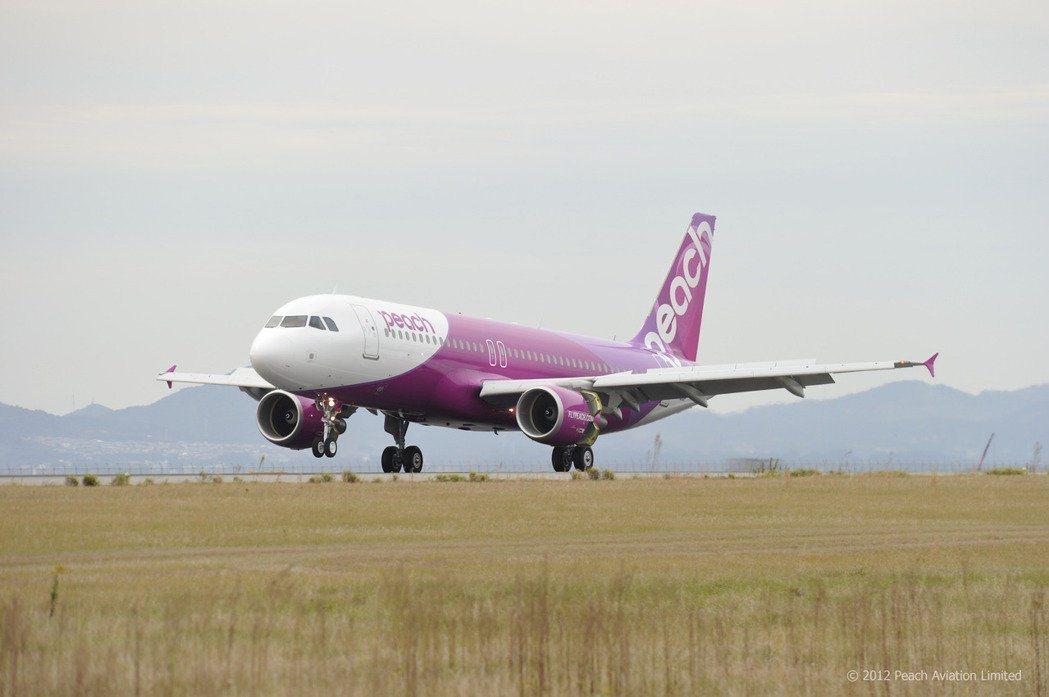 樂桃航空將於9月25日開航台北-仙台航線。圖/樂桃航空提供