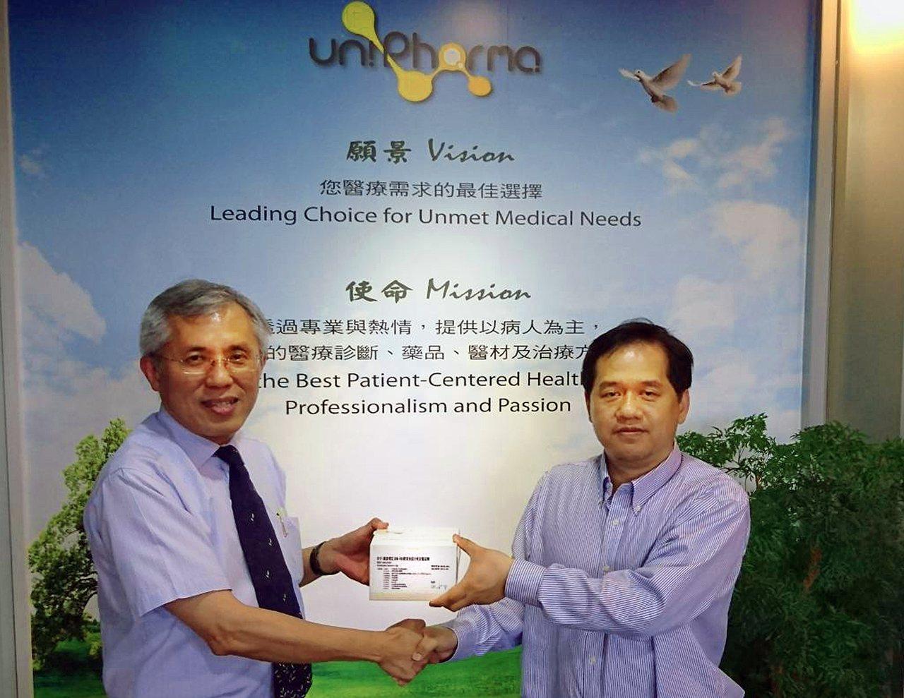 世基生醫搶中國精準醫療市場,獲得華宇大腸癌診斷試劑獨家銷售權,照片為世基生醫董事...