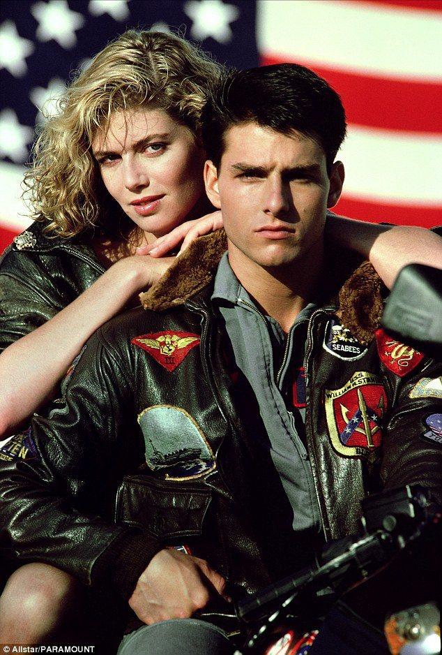 湯姆克魯斯1986年以電影「捍衛戰士」走紅全球。圖/摘自dailymail
