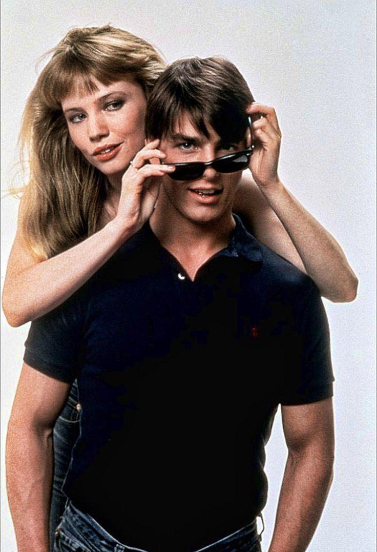 湯姆克魯斯與電影「保送入學」女主角蕾貝嘉狄摩妮。圖/摘自pinterest