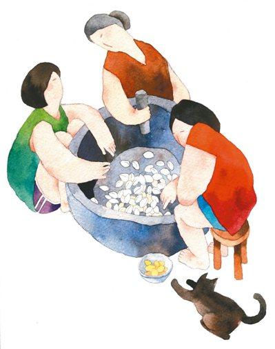 阿May和大伯母對話的當兒,阿美麗亞卻注視著地板,除了白果的碎殼,地上還飛散著許...