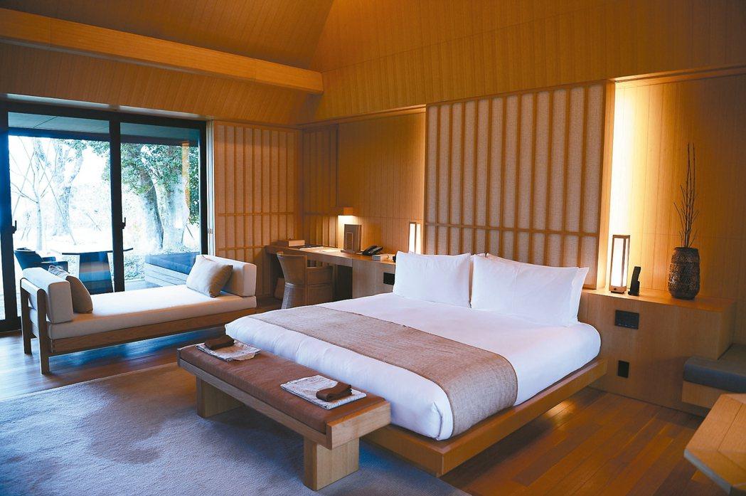 Amanemu的房間走日式設計,整體風格完全貼近當地的特色。 圖/施明廷