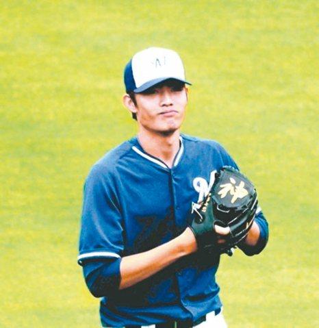 台灣旅美密爾瓦基釀酒人隊小聯盟3A投手王維中。