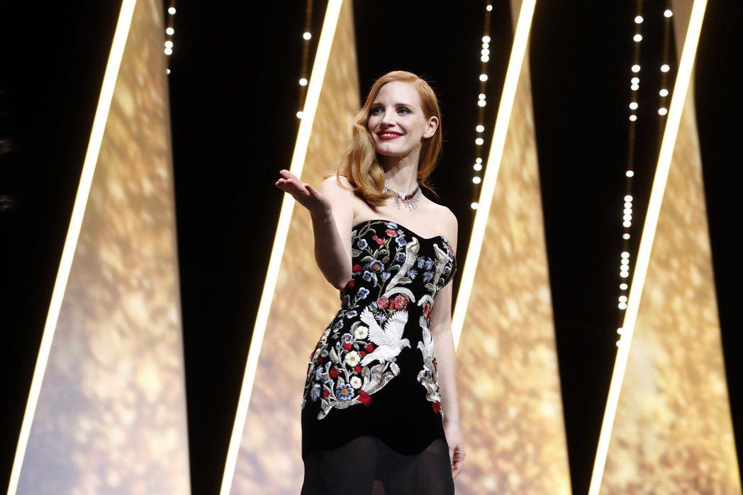 潔西卡雀絲坦是本屆坎城影展評審之一。 圖/美聯社