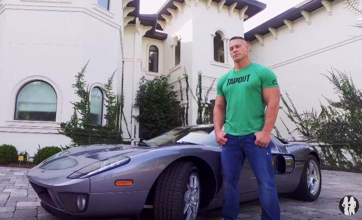 不管是身材還是車,John Cena 真的都羨煞眾人阿! 截自 Youtube