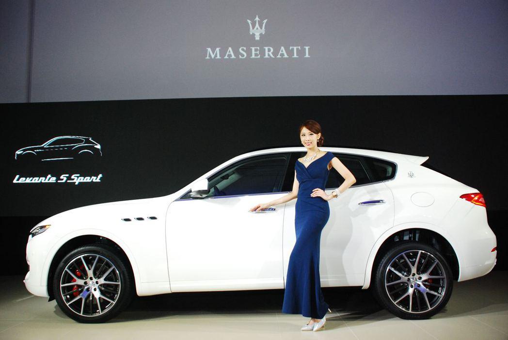 Maserati Levante S Sport。圖/記者林昱丞攝影