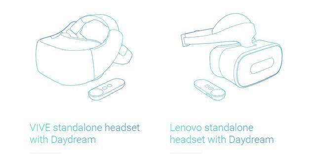 Google推出獨立VR產品,硬體將由宏達電、聯想打造。
