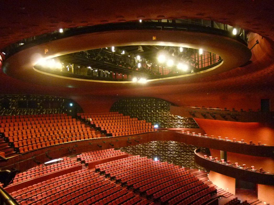 「大劇院」音響效果震撼,涵洞的空間設計,聲音耳邊環繞,沒有看不到的視角。 圖/台...