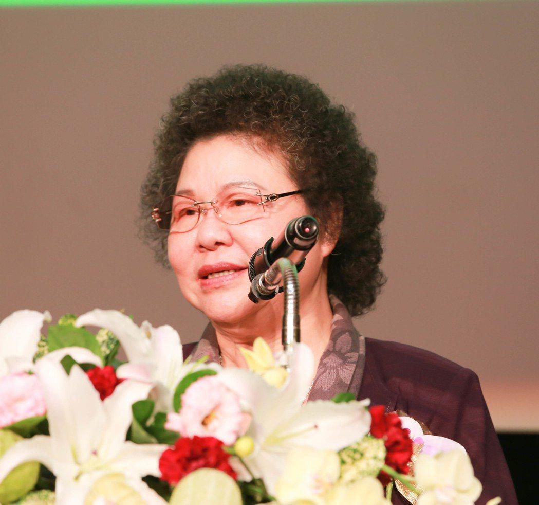 高雄市長陳菊特別感謝園冶獎,讓世界看見高雄。 攝影/張世雅