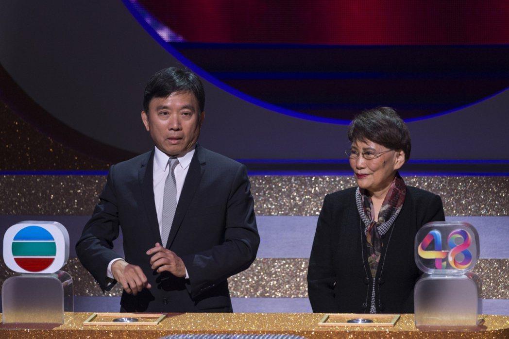 傳香港無線電視TVB主席陳國強 (左)10日在挪威發生直升機失事墜海的意外,不過...