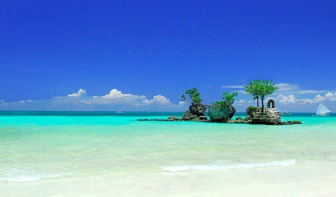 圖為菲律賓長灘島。圖擷自窮游網