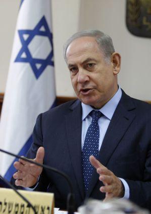 以色列總理內唐亞胡。 美聯社