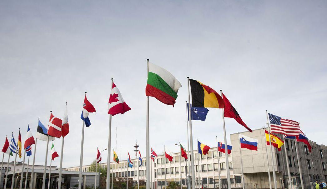 比利時布魯塞爾的北大西洋公約組織(NATO)總部。 美聯社