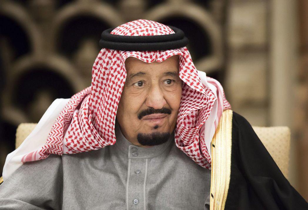 沙烏地阿拉伯國王。 美聯社