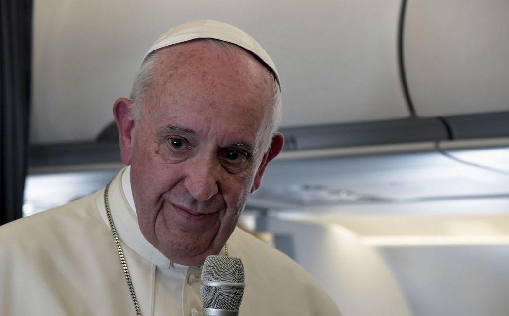 教宗方濟各。 路透