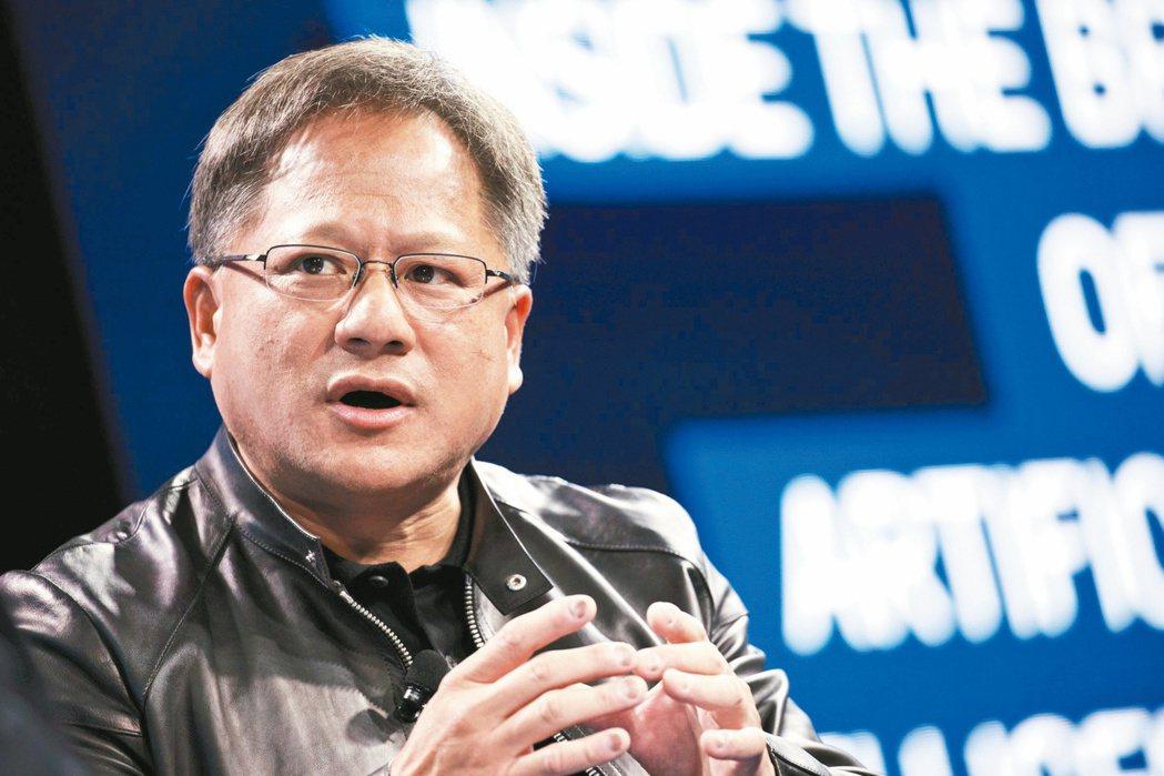 輝達(Nvidia)創辦人黃仁勳。 彭博資訊