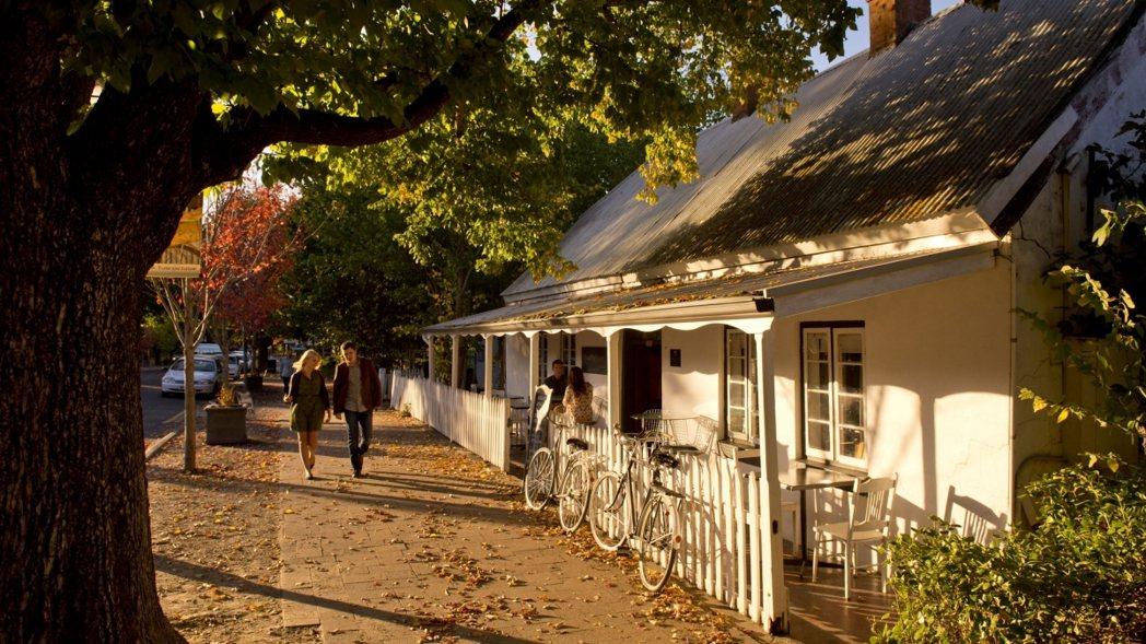 ・漢多夫則是一個充滿德國風情的小鎮,也是澳洲最古老的德國移民聚集區。(圖/澳洲旅...