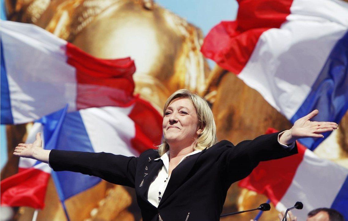 資料圖片:法國政府為了因應「勒龐當選」所造成的大規模騷亂,曾擬定了一份全國維穩,...