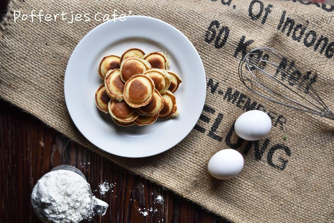 荷蘭小鬆餅。圖/摘自 Poffertjes cafe 荷蘭小鬆餅 FB