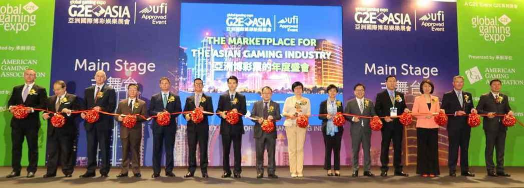 第11屆亞洲國際博彩娛樂展會(G2E-ASIA)5月16日在澳門威尼斯人酒店國際...