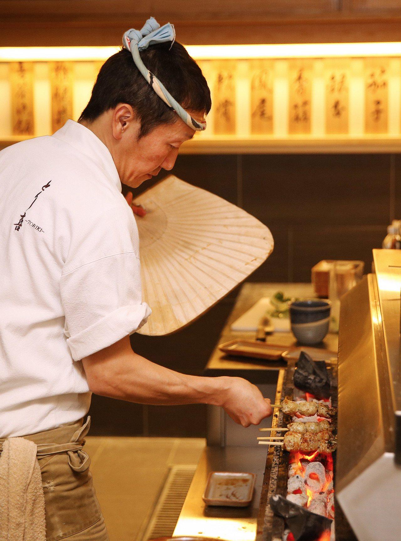 品味專刊-米其林一星台北鳥喜正式開幕,日本社長坂井康人。記者陳柏亨/攝影