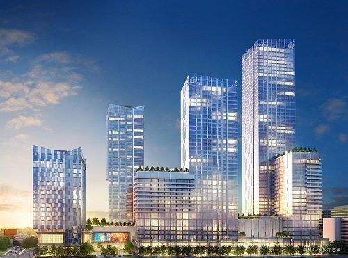 Metropolis為洛杉磯市中心最高端住宅樓。圖/第一太平戴維斯提供