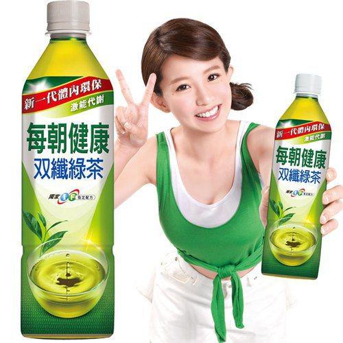 口感甘甜好喝的每朝健康双纖綠茶,是懶人的一大福音。圖由廠商提供。