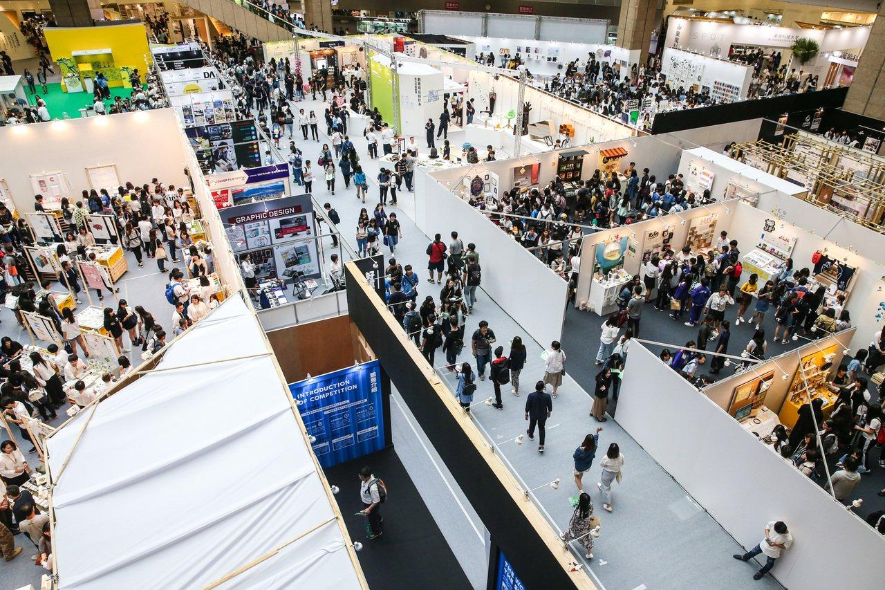 新一代設計展在台北世貿中心舉辦。記者鄭清元/攝影