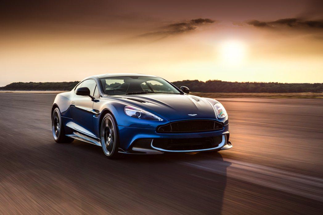 Aston Martin Vanquish S。圖/永三汽車提供