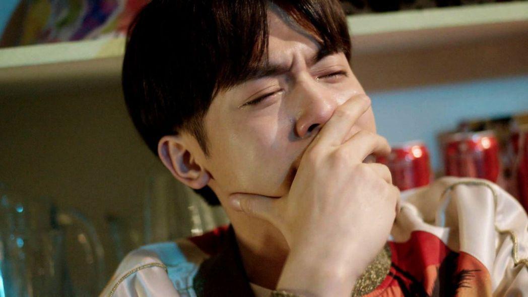 小樂的眼淚讓網友秀秀。圖/三立提供