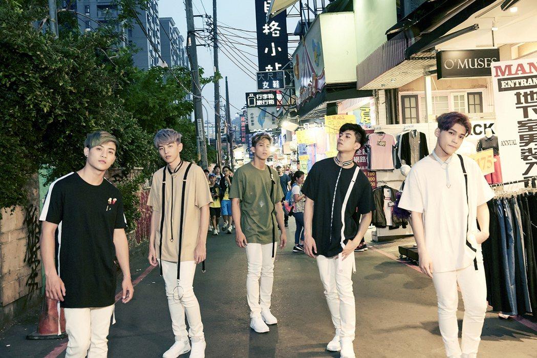 男團TOP1。圖/傳奇星娛樂提供