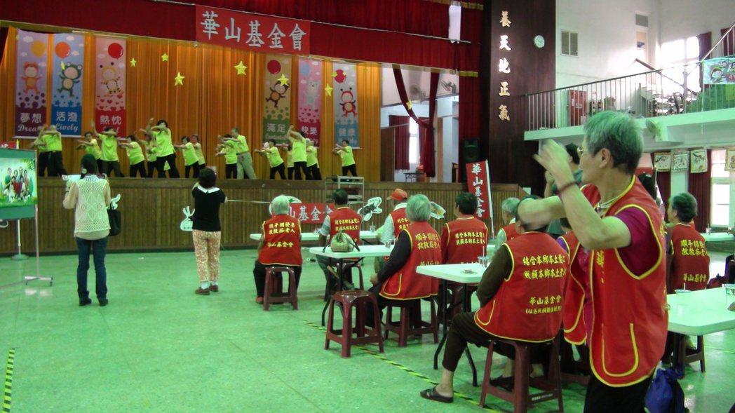 華山番路站舉辦5周年活動。記者謝恩得/攝影